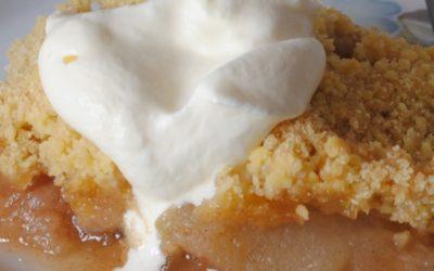 Apple Crumble Pudding Recipe
