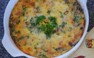 Bacon & Mushroom Quiche Recipe