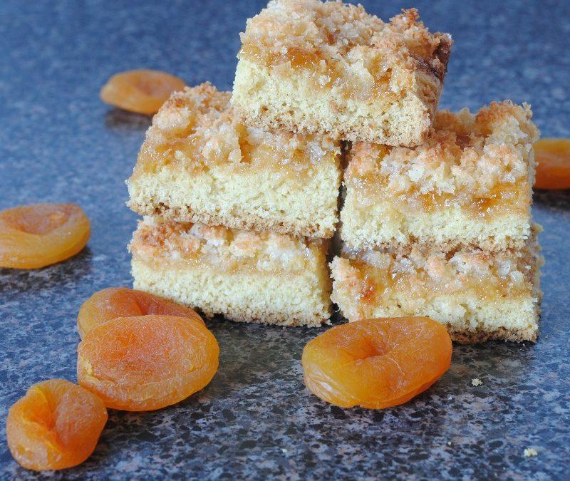 Coconut & Apricot Slice Recipe