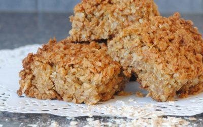 Crunchy Oat Slice Recipe