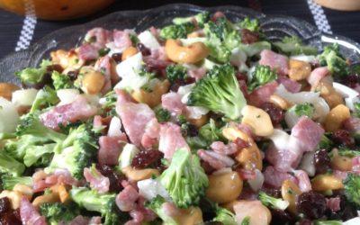 Broccoli and Cashew Salad Recipe