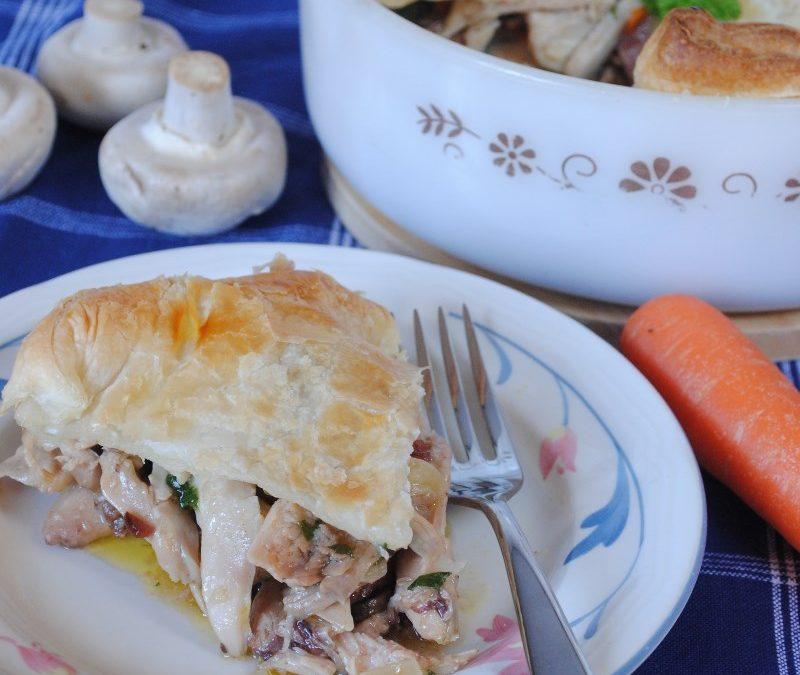 Chicken & Mushroom Pie Recipe