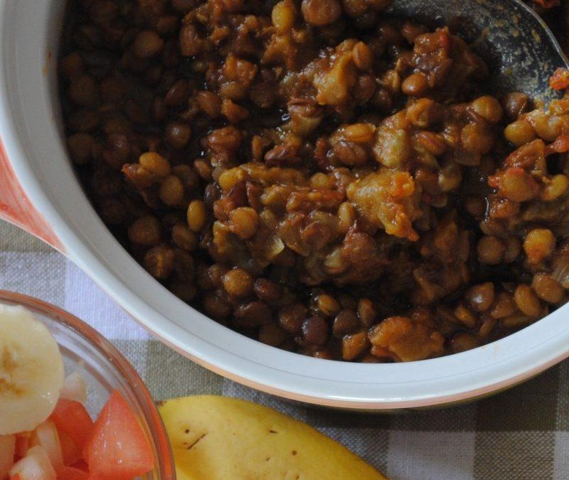 Lentil & Eggplant Curry Recipe