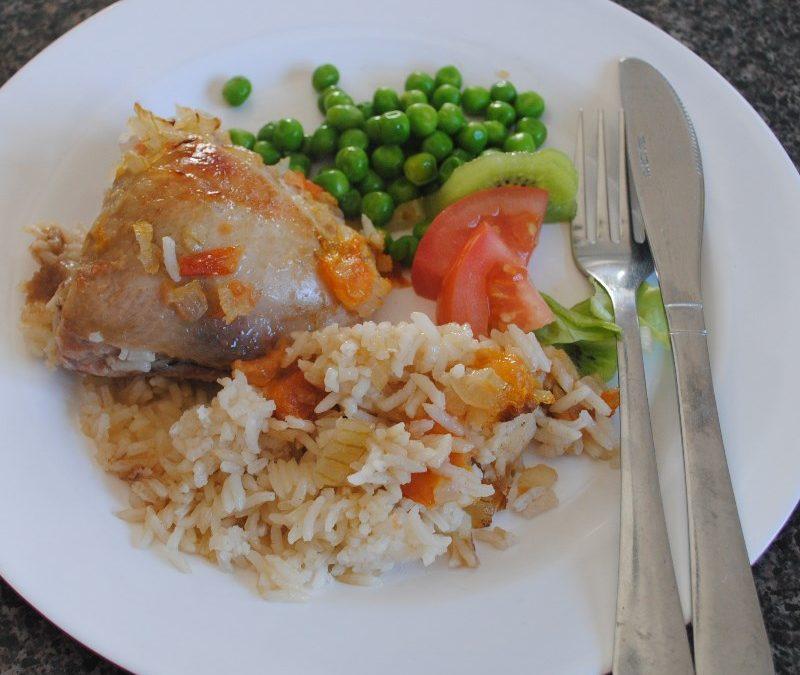 One-Pot Chicken & Rice Recipe
