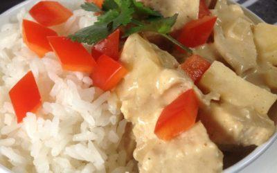 Chicken Pineapple Curry Recipe