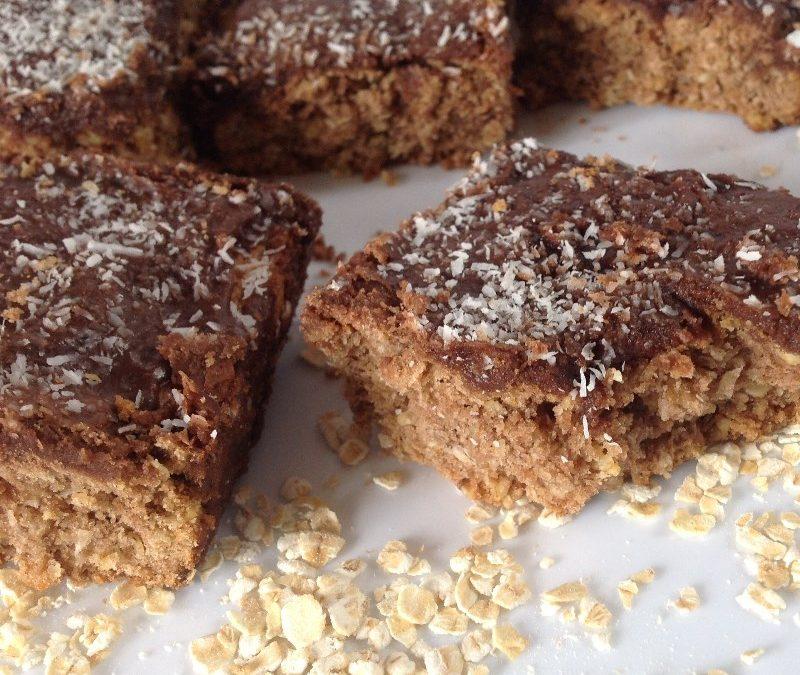 Vegan Chocolate Coconut Slice Recipe