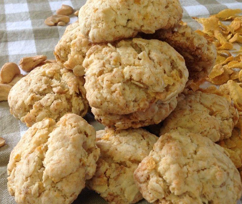 Vegan Cornflake Breakfast Cookies Recipe