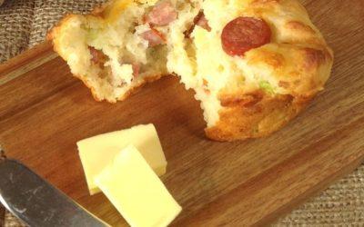 Cheese and Vienna Muffin Recipe