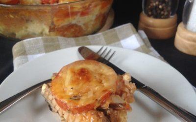 Sardine / Mackarel and Cheese Bake Recipe