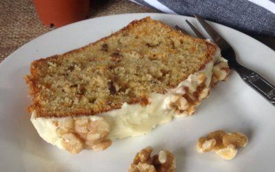 Carrot & Walnut Cake Recipe