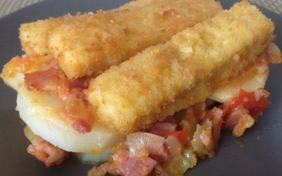 Fish Fingers and Potatoes Recipe