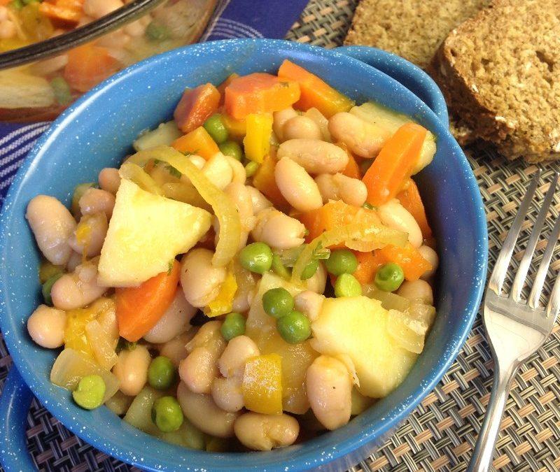 Vegan Cannellini Bean Stew Recipe
