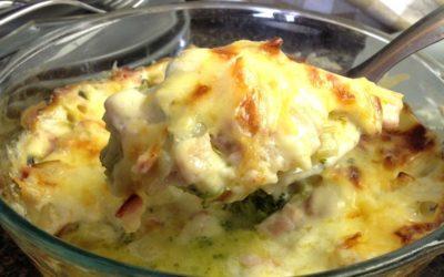 Cheesy Broccoli and Bacon Casserole Recipe