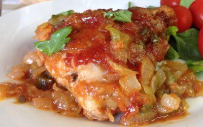 Moroccan Lemon Chicken Recipe