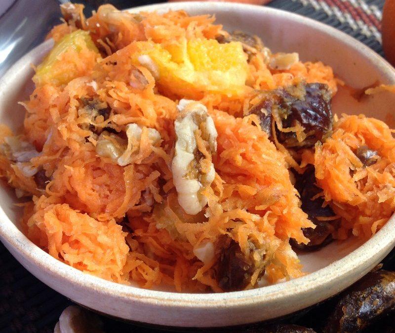 Vegan Carrot and Date Salad Recipe