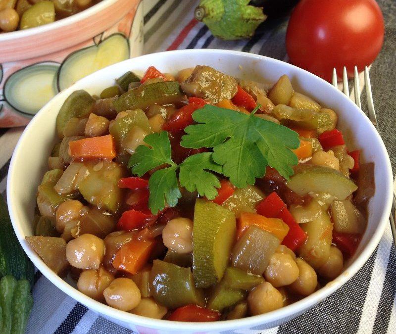 Vegan – Eggplant and Chickpea Stew Recipe