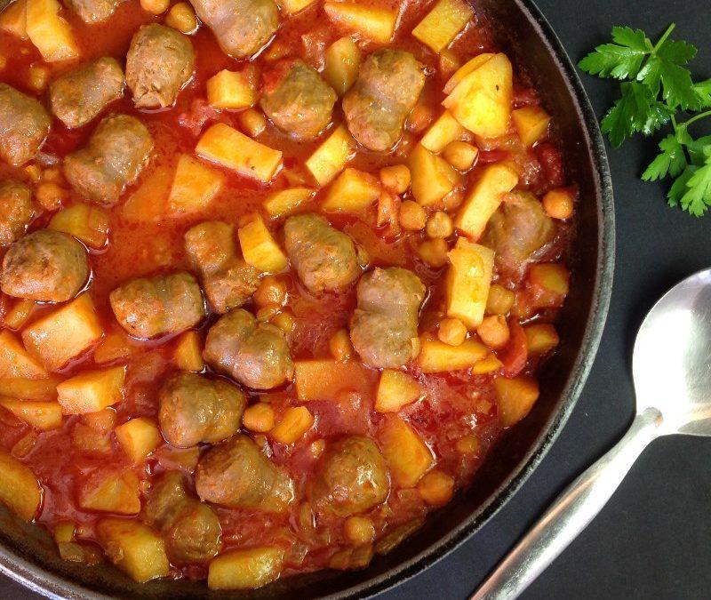 Sausage & Chickpea Stew Recipe