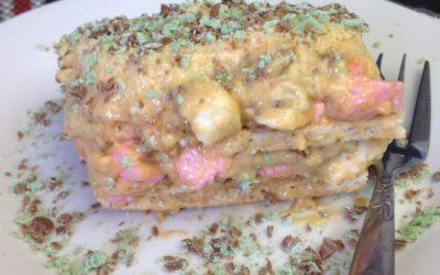 Peppermint & Marshmallow Tart Recipe